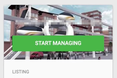 Click start managing.