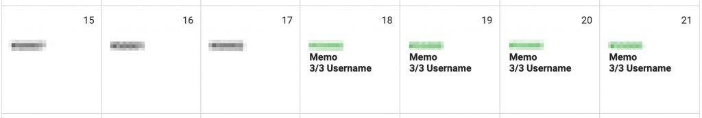 Calendar shows edited rates.